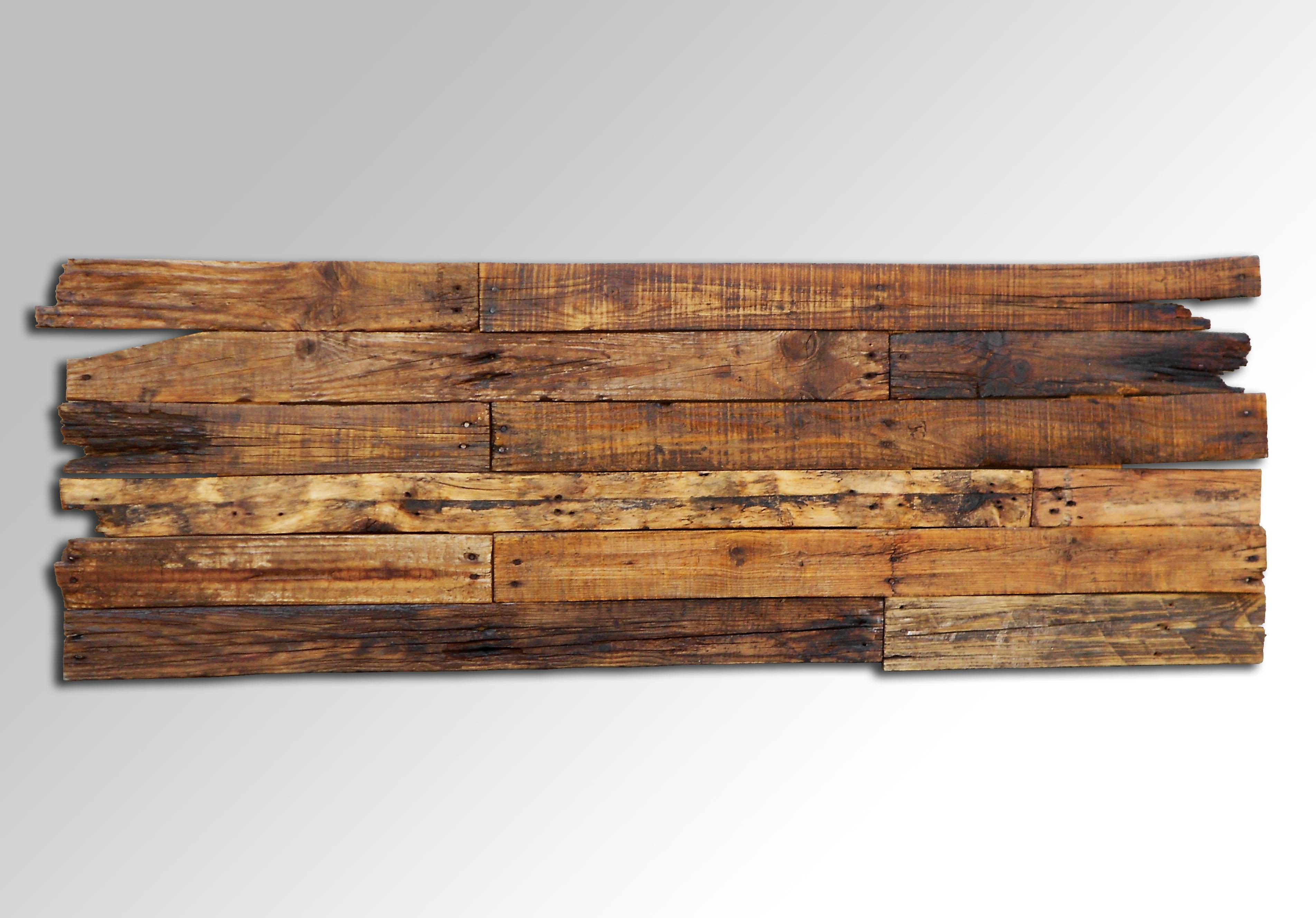 Cabecero cama r stico madera reciclada deskartes - Cabecero de tablas ...